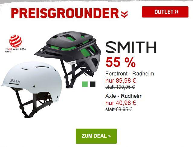 Smith Radhelme um 55% reduziert