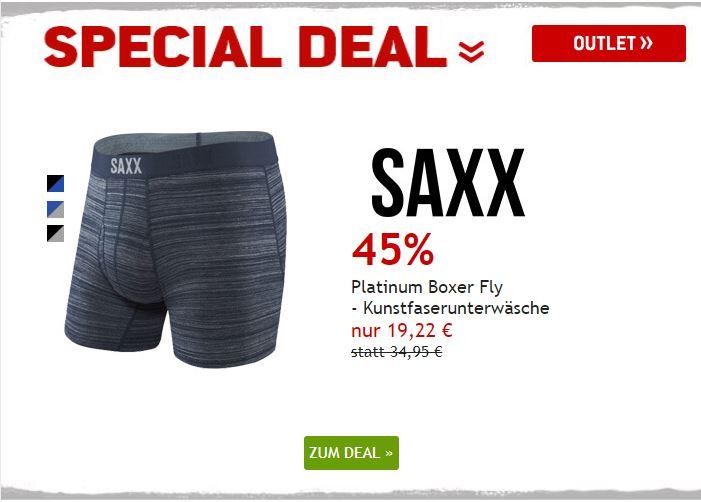 Saxx Kunstfaserunterhose um 45% reduziert