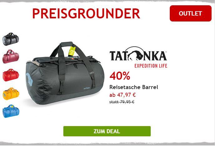Nur heute 40% auf Reisetasche von Tatonka
