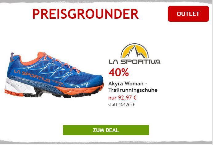 40% auf Trailrunningschuhe von La Sportiva