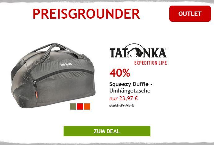 40% auf Tatonka Reisetasche