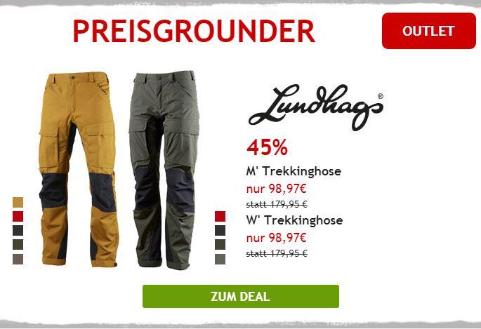 Nur heute: 45% auf Lundhags Trekkinghosen