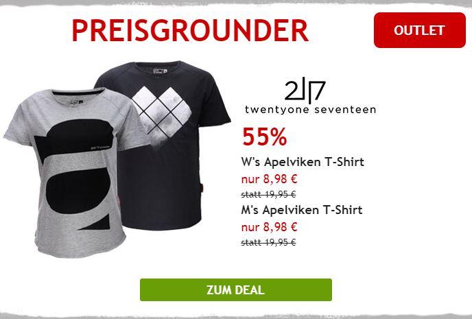 Nur heute: 55% auf 2117 of Sweden T-Shirts