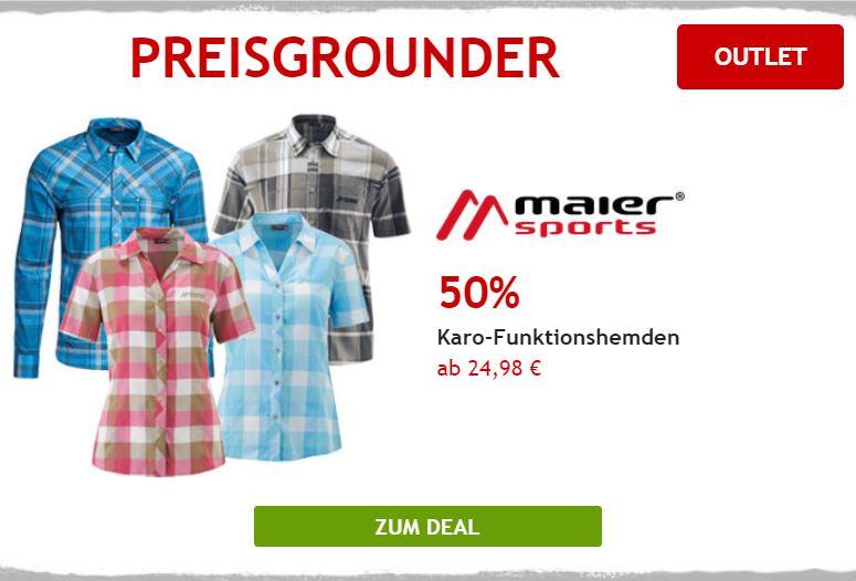 50% auf Maier Sport Hemden